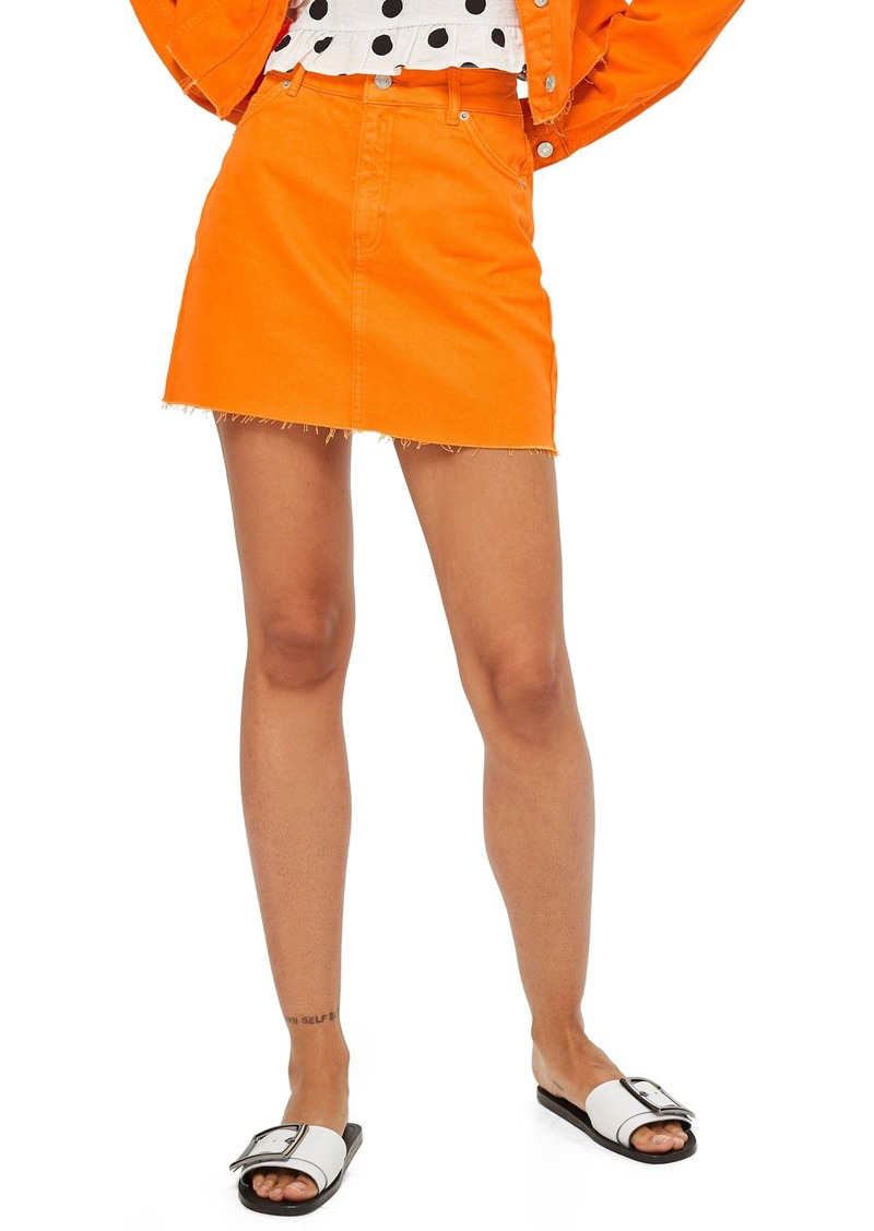 b8fa979a31 Topshop Topshop MOTO High Waist Denim Skirt