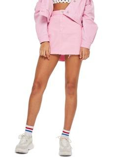 Topshop MOTO High Waist Denim Skirt (Regular & Petite)