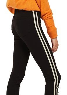 Topshop Moto Side Stripe Jeans