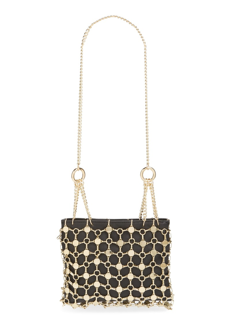 Topshop Multi Chain Shoulder Bag