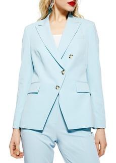 Topshop Nanette Asymmetrical Jacket