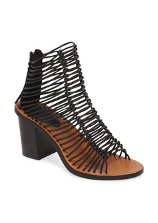 Topshop Narly Knotted Bootie Sandal (Women)