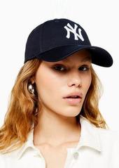 Topshop New Era 'NY' cap in navy