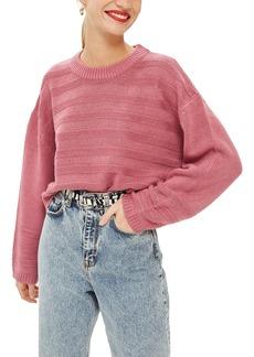 Topshop Ottoman Crop Sweater