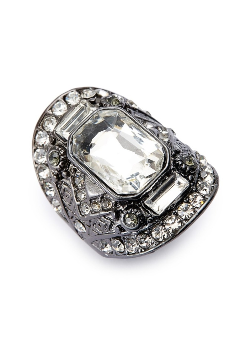 Topshop Oval Statement Ring