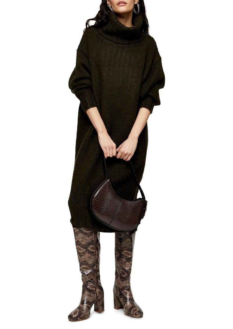 Topshop Oversize Cocoon Sweater Dress
