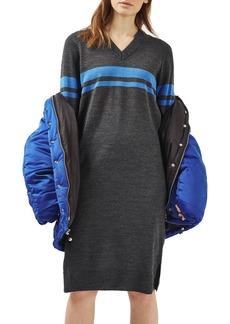 Topshop Oversize Sport Midi Dress (Petite)