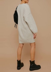 Topshop Oversize Sweater Dress