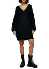 Topshop Oversize Sweater Dress