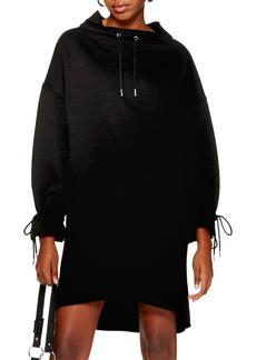 Topshop Oversize Sweatshirt Dress