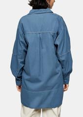 Topshop Oversize Utility Shirt