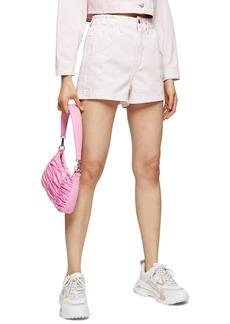 Topshop Paperbag Waist Shorts