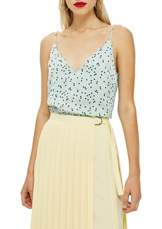Topshop Patterned Camisole