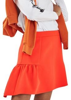 Topshop Peplum Skirt