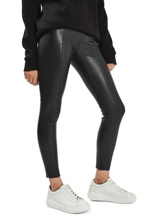 Topshop Percy Faux Leather Skinny Pants (Regular & Petite)
