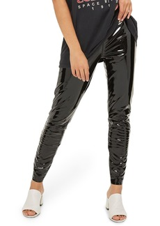 Topshop Percy Vinyl Leggings