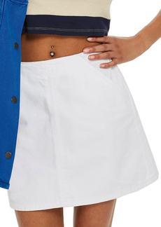 Topshop Petite Pocket A-Line Skirt