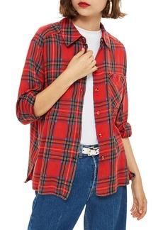Topshop Plaid Shirt