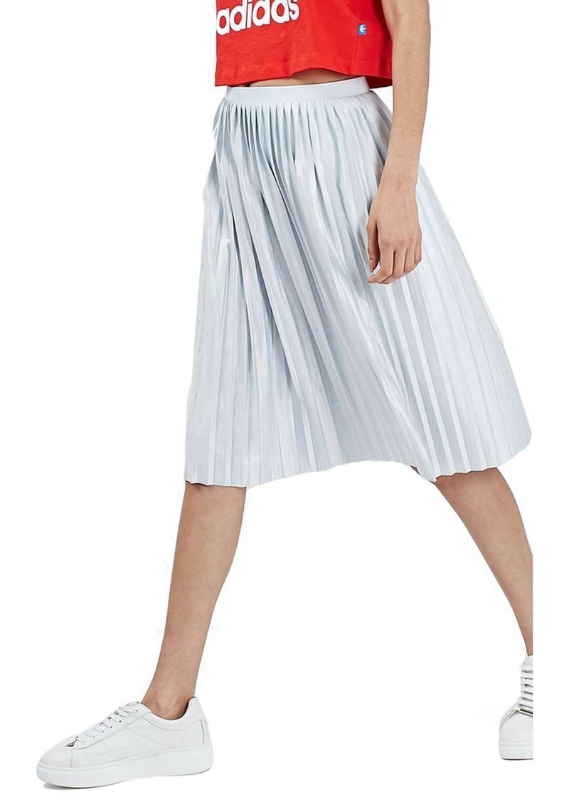 24e16a4579 Topshop Jersey Pleated Midi Skirt   Saddha