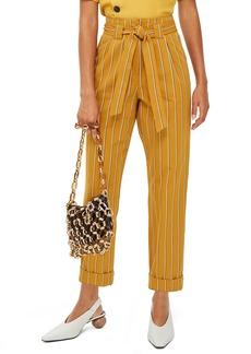 Topshop Polly Stripe Peg Trousers