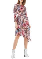 732e146a407c Topshop Topshop Pop Floral Ruffle Midi Dress Now $74.99