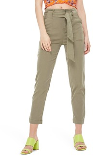 Topshop Popper Utility Trousers (Regular & Petite)