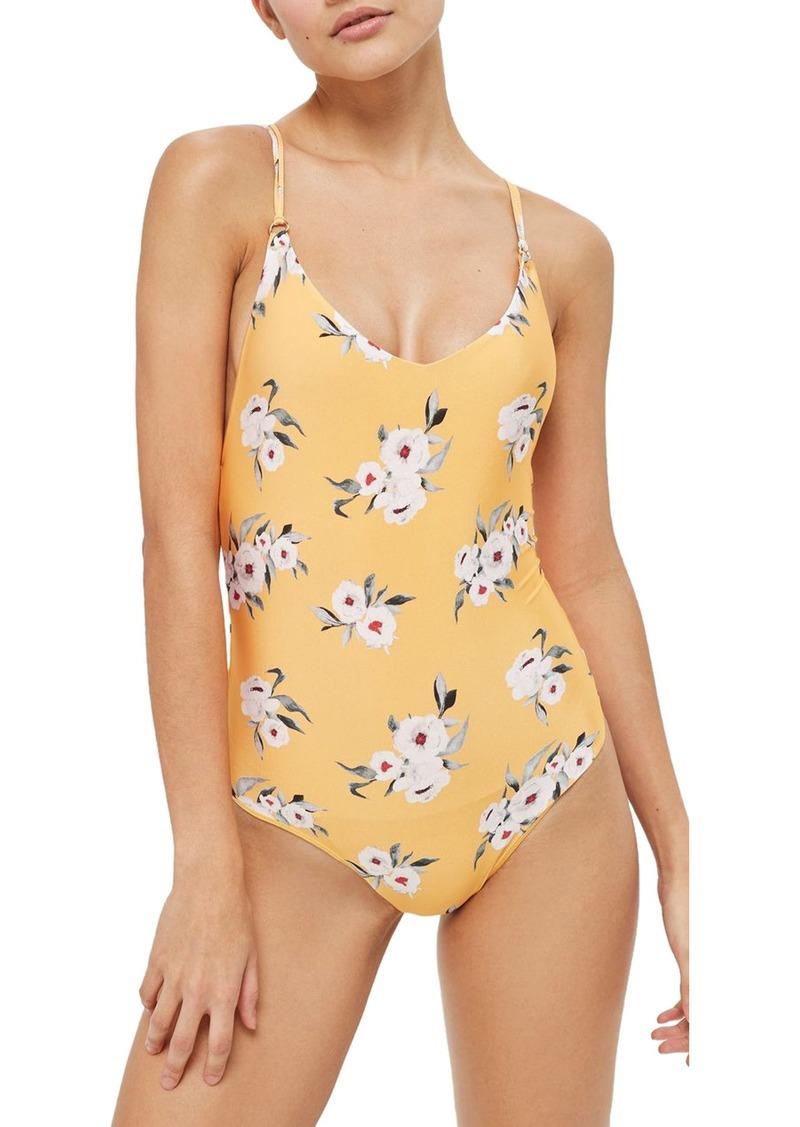 8d6f69d55d6c3 Topshop Topshop Posie One-Piece Swimsuit | Swimwear