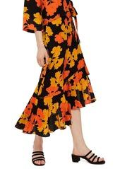 Topshop topshop printed midi skirt abva796ce0 a