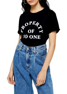 Topshop Property of No One Tee