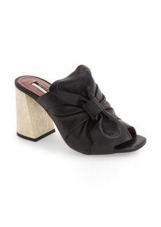 Topshop 'Prosecco' Square Toe Mule (Women)