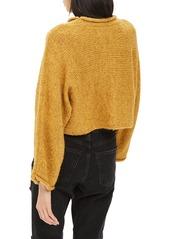 Topshop Punk Roll Neck Crop Sweater Topshop Punk Roll Neck Crop Sweater 39e95392d