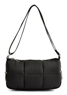 Topshop Quilted Shoulder Bag - Black