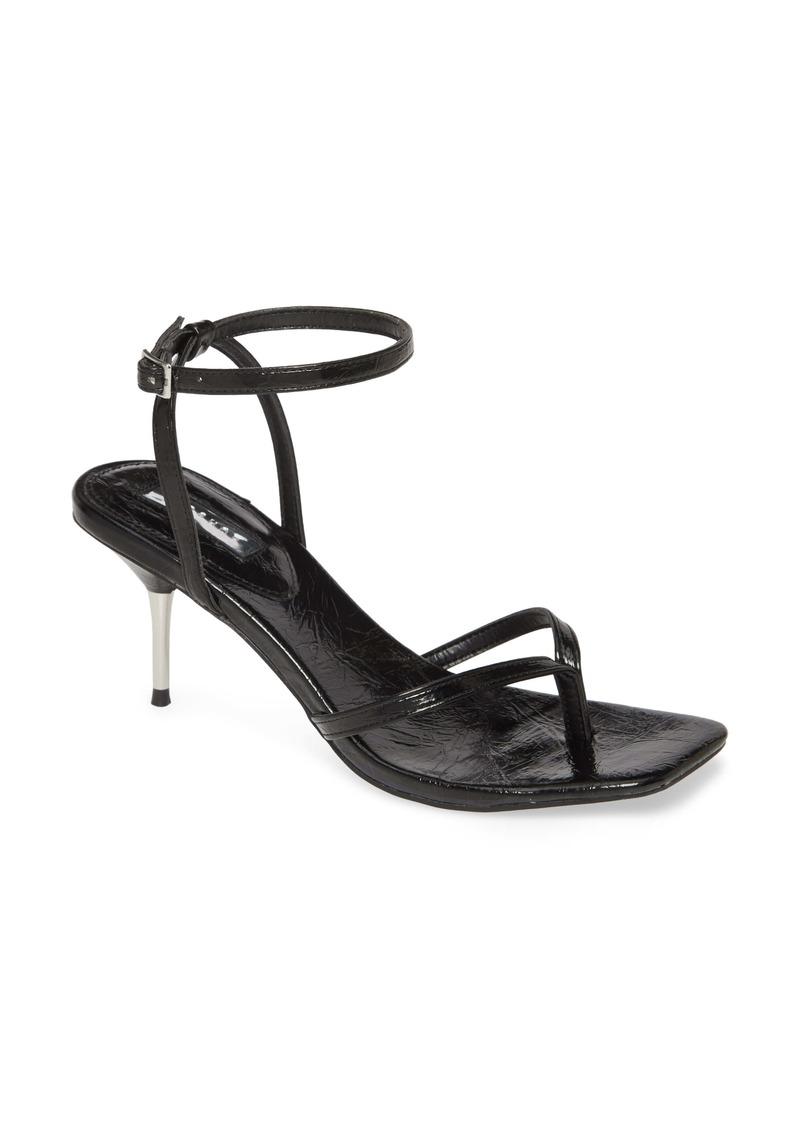 Topshop Radiant Ankle Strap Sandal (Women)