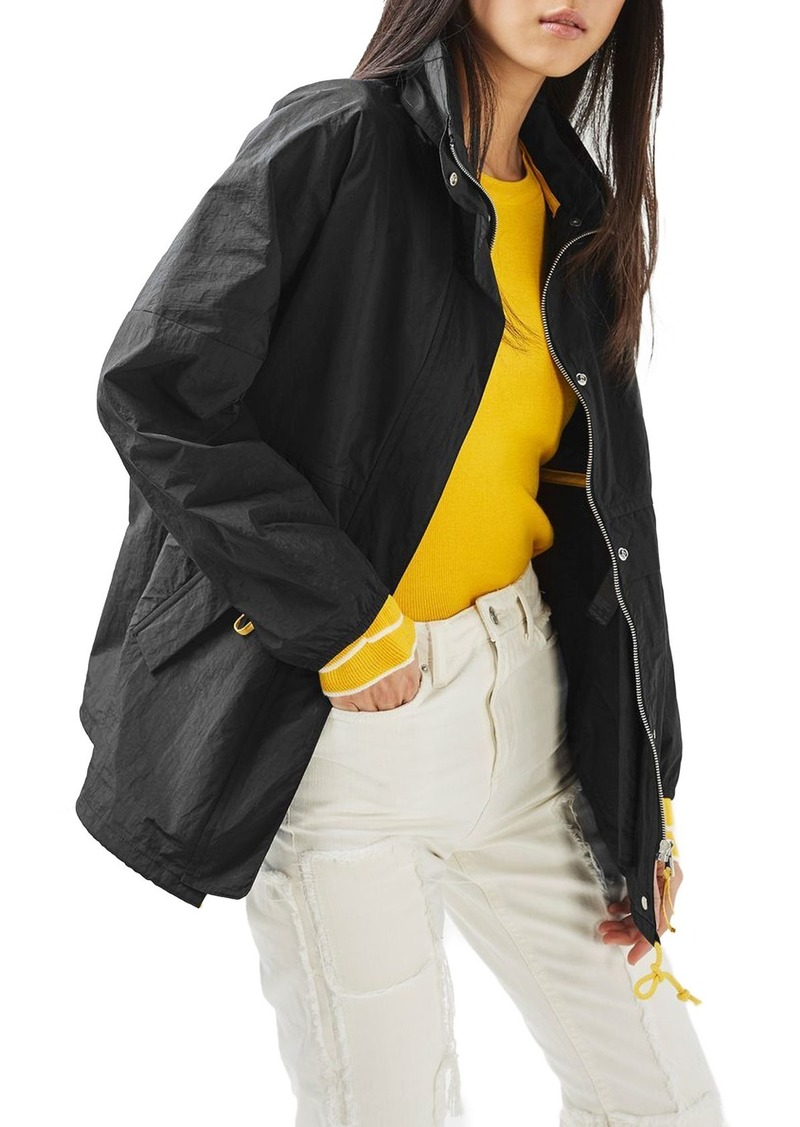 Topshop Retro Sports Jacket