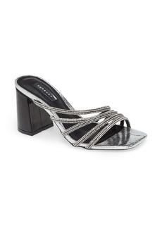 Topshop Rhonda Crystal Embellished Slide Sandal (Women)