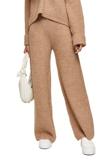 Topshop Ribbed Wide Leg Lounge Trousers
