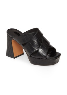 Topshop Richmond Platform Slide Sandal (Women)