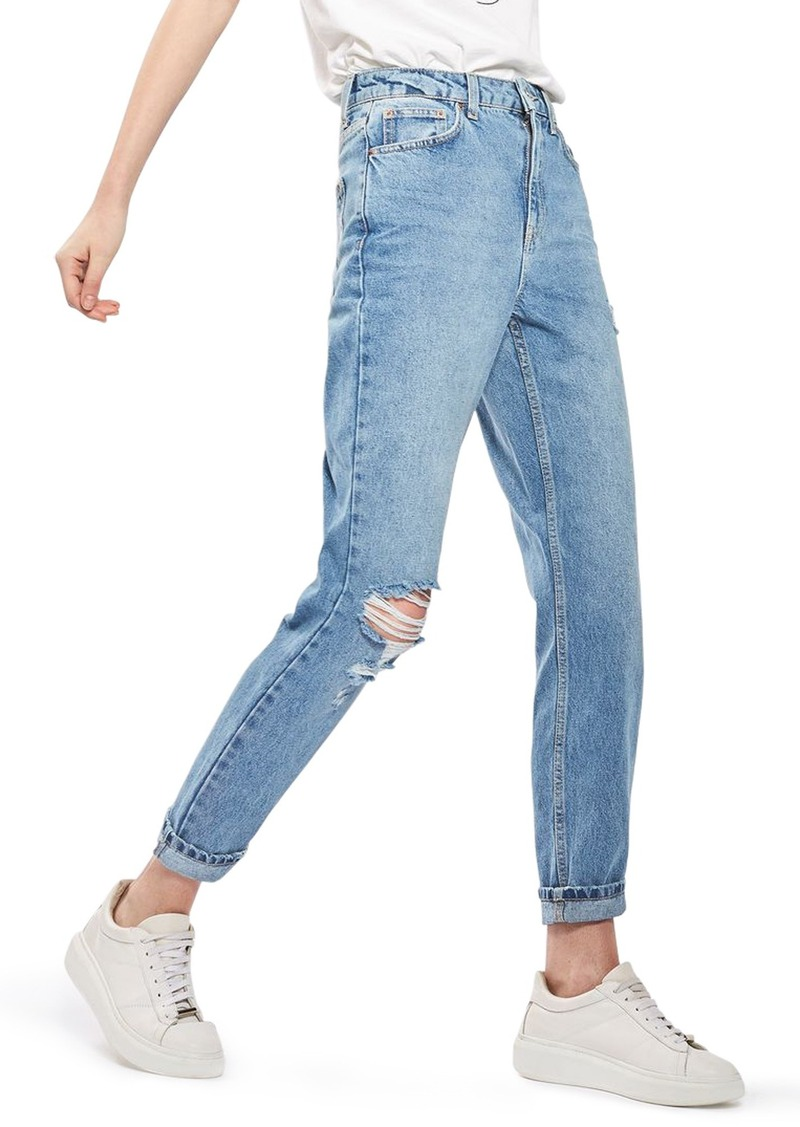 newest style of new varieties new styles Topshop Topshop Ripped Mom Jeans | Denim
