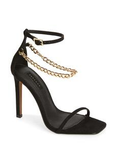 Topshop Rival Chain Strap Sandal (Women)