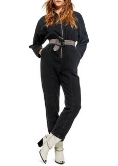 Topshop Rock It Boiler Jumpsuit
