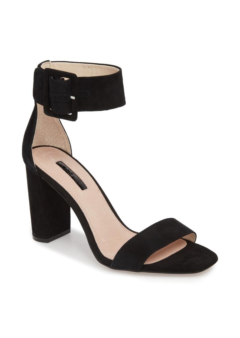 Topshop Rosie Block Heel Sandal (Women)