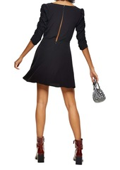 Topshop Ruched Minidress