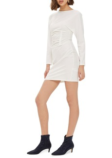 Topshop Ruched Waist Mindress