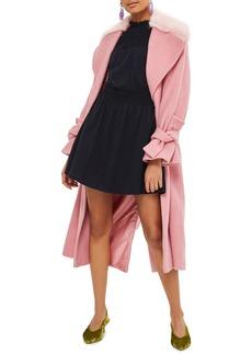 Topshop Ruffle Collar Smock Dress