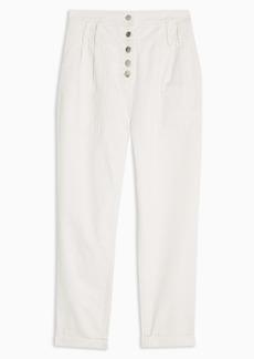 Topshop Sandra High Waist Trousers