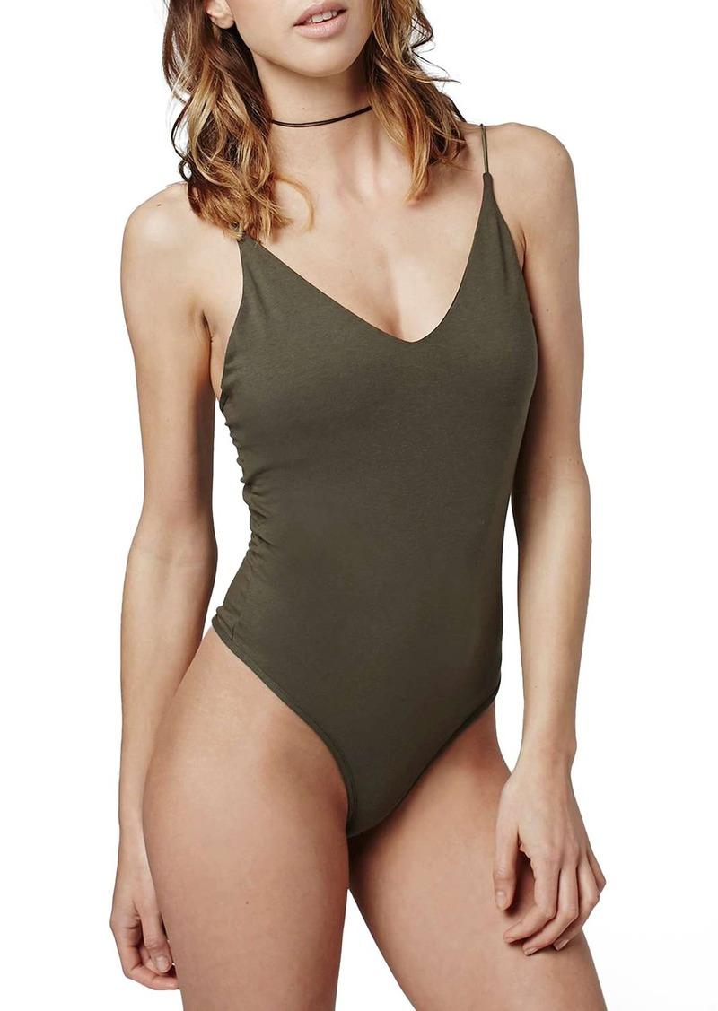 Topshop 'Sarah' Thong Bodysuit