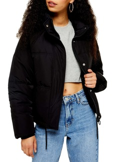 Topshop Sasha Puffer Jacket (Petite)