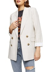 Topshop Saturday Double Breasted Blazer