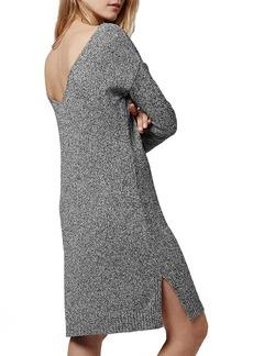 Topshop Scoop Back Sweater Dress