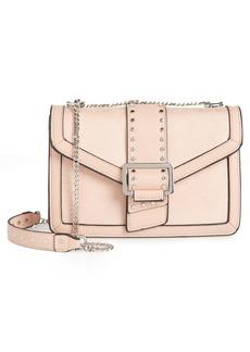 Topshop Seema Studded Faux Leather Shoulder Bag